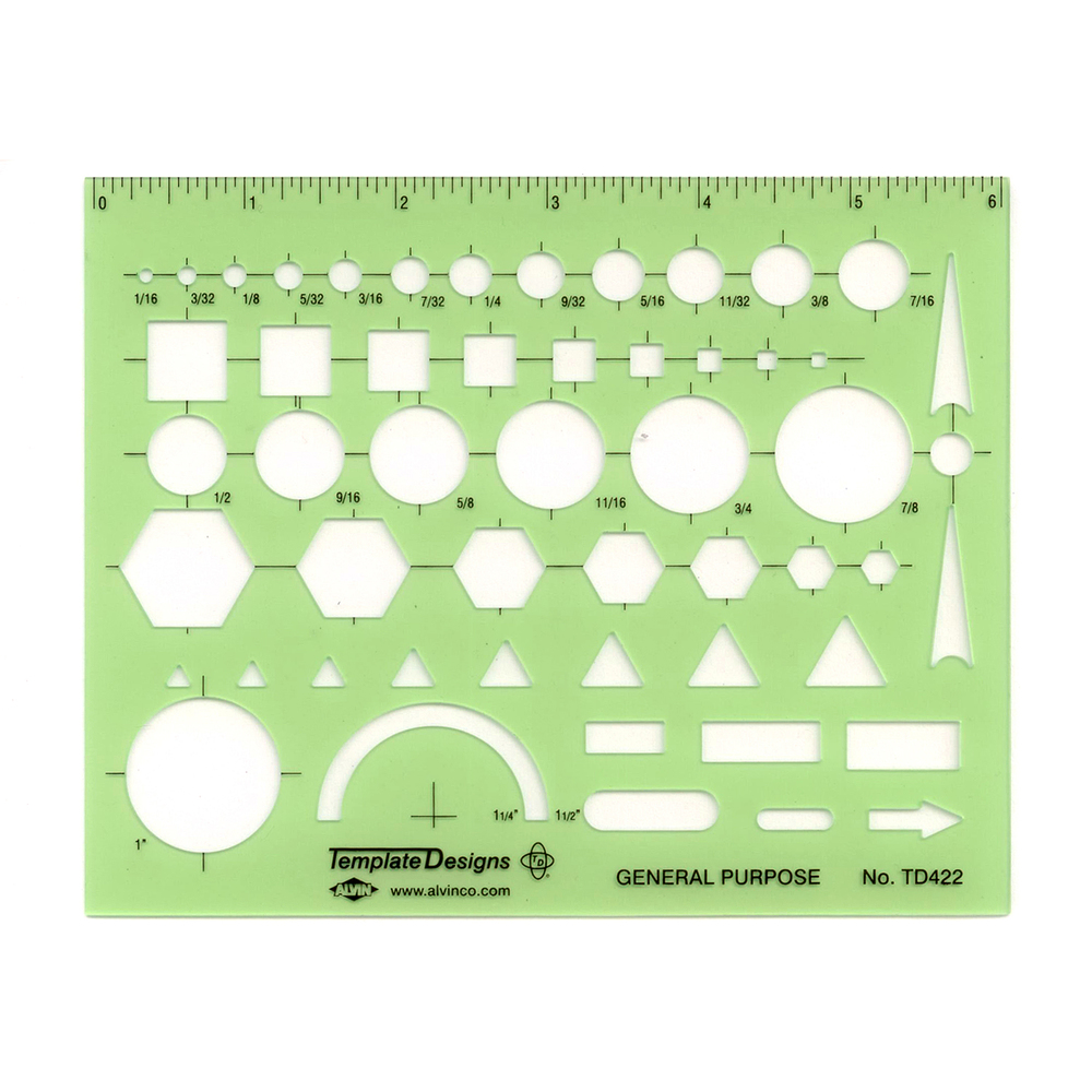 Basic Shapes - Template or Stencil