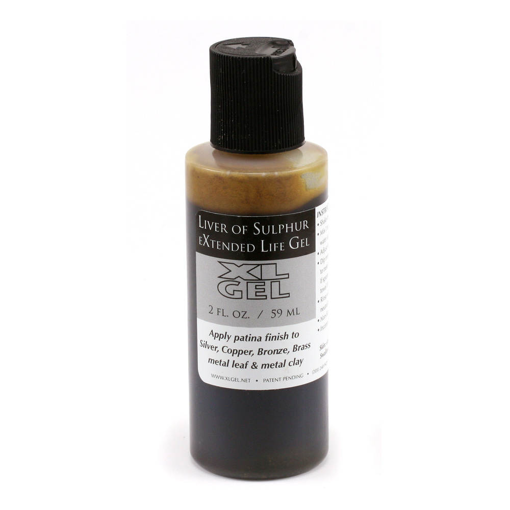 Jewelry Making Tools Liver of Sulfur Gel 2 oz