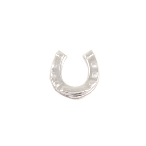 Charms & Solderable Accents Sterling Silver Horseshoe Solderable Accent, 24g - Pack of 5