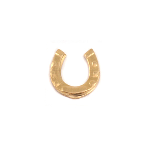 Charms & Solderable Accents Brass Horseshoe Solderable Accent, 24g