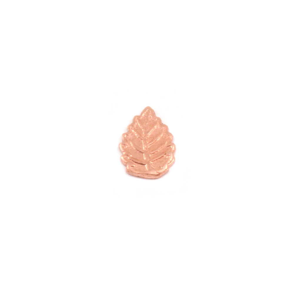 Charms & Solderable Accents Copper Leaf Solderable Accent, 24g - Pack of 5