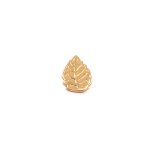 Charms & Solderable Accents Brass Leaf Solderable Accent, 24g