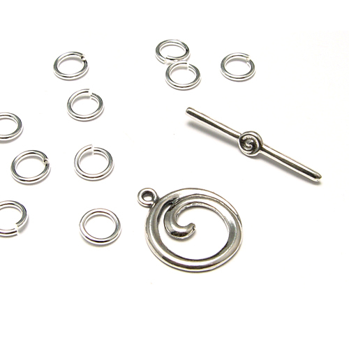 Orbital Ring Chain Optional Materials Kit, Sterling Silver