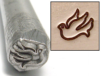 Metal Stamping Tools Dove Design Stamp