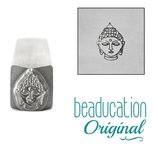 Metal Stamping Tools Buddha Metal Design Stamp, 8.5mm - Beaducation Original