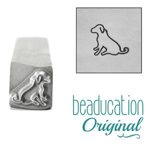 Metal Stamping Tools Miles the Dog Metal Design Stamp, 8.5mm - Beaducation Original