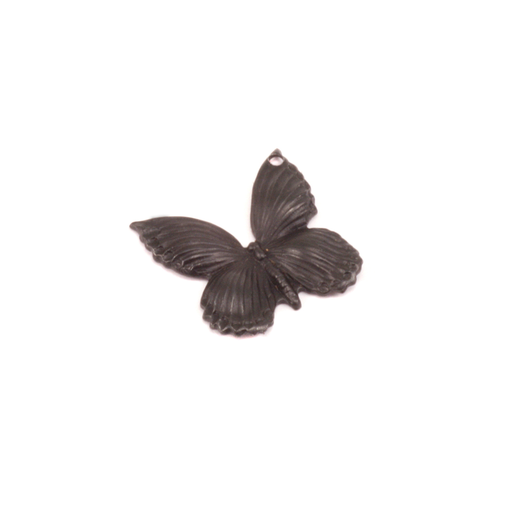 Charms & Solderable Accents Arte Metal Butterfly Pendant