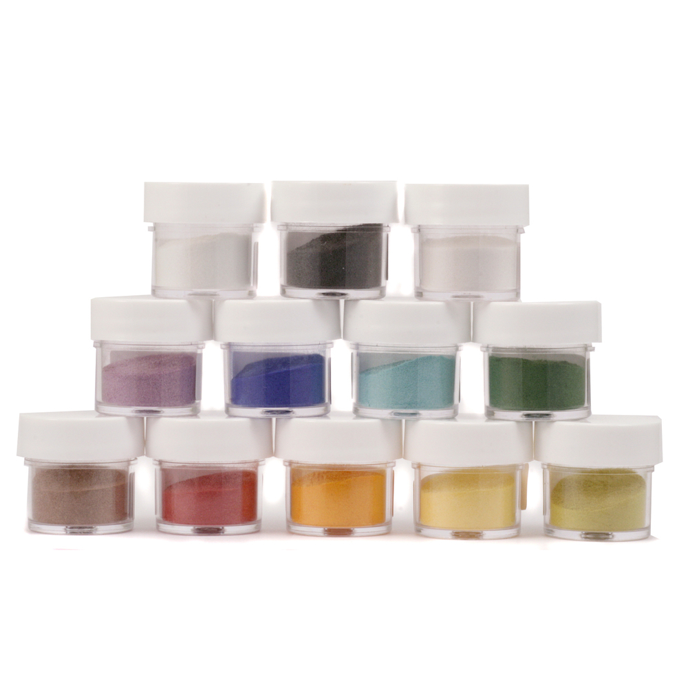 Enamel & Mixed Media Enameling Color Kit, Jewel Tone
