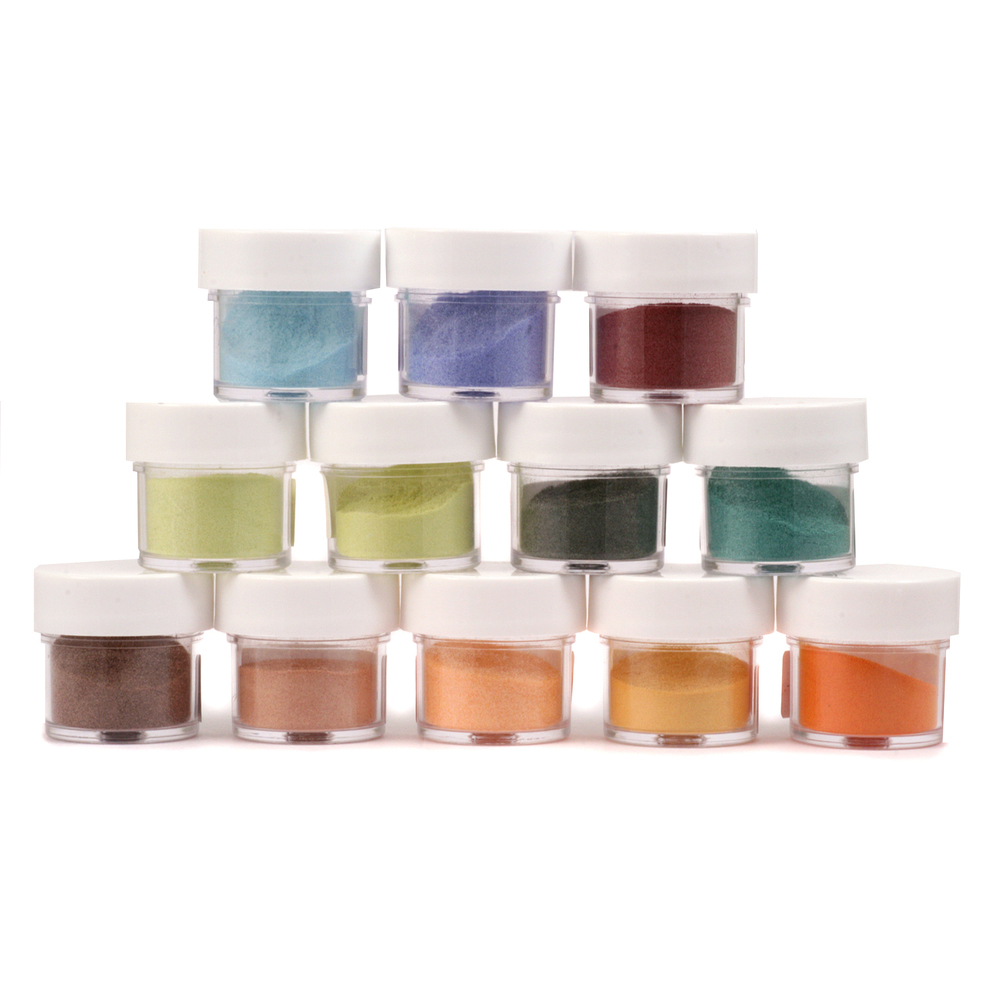 Enamel & Mixed Media Enameling Color Kit, Earth Tone