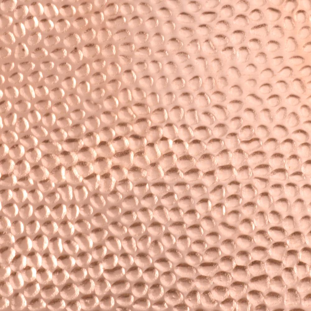 """Wire & Sheet Metal Patterned Copper 24g Sheet Metal, Eel, 2.5"""" x 6"""""""