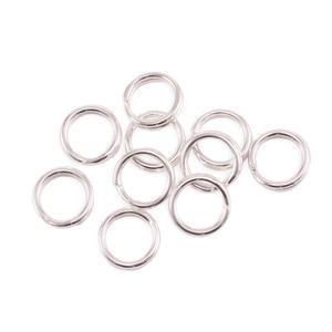 Jump Rings Sterling Silver 3.5mm I.D. 18 Gauge Jump Rings, pack of 10
