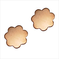 Metal Stamping Blanks Copper Flower, 18g