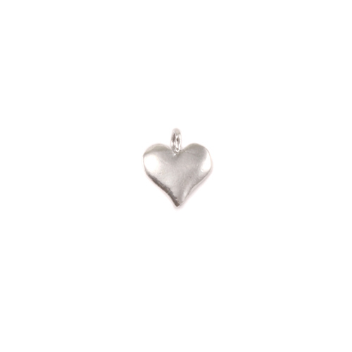 Charms & Solderable Accents Sterling Silver Heart Charm
