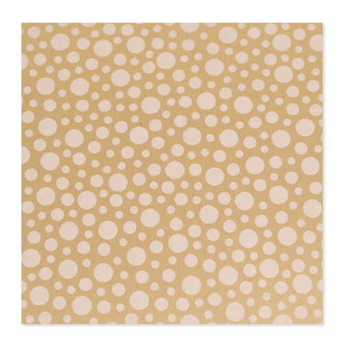 Dregs Anodized Aluminum 22g 3x3 Sheet, Design T, Gold