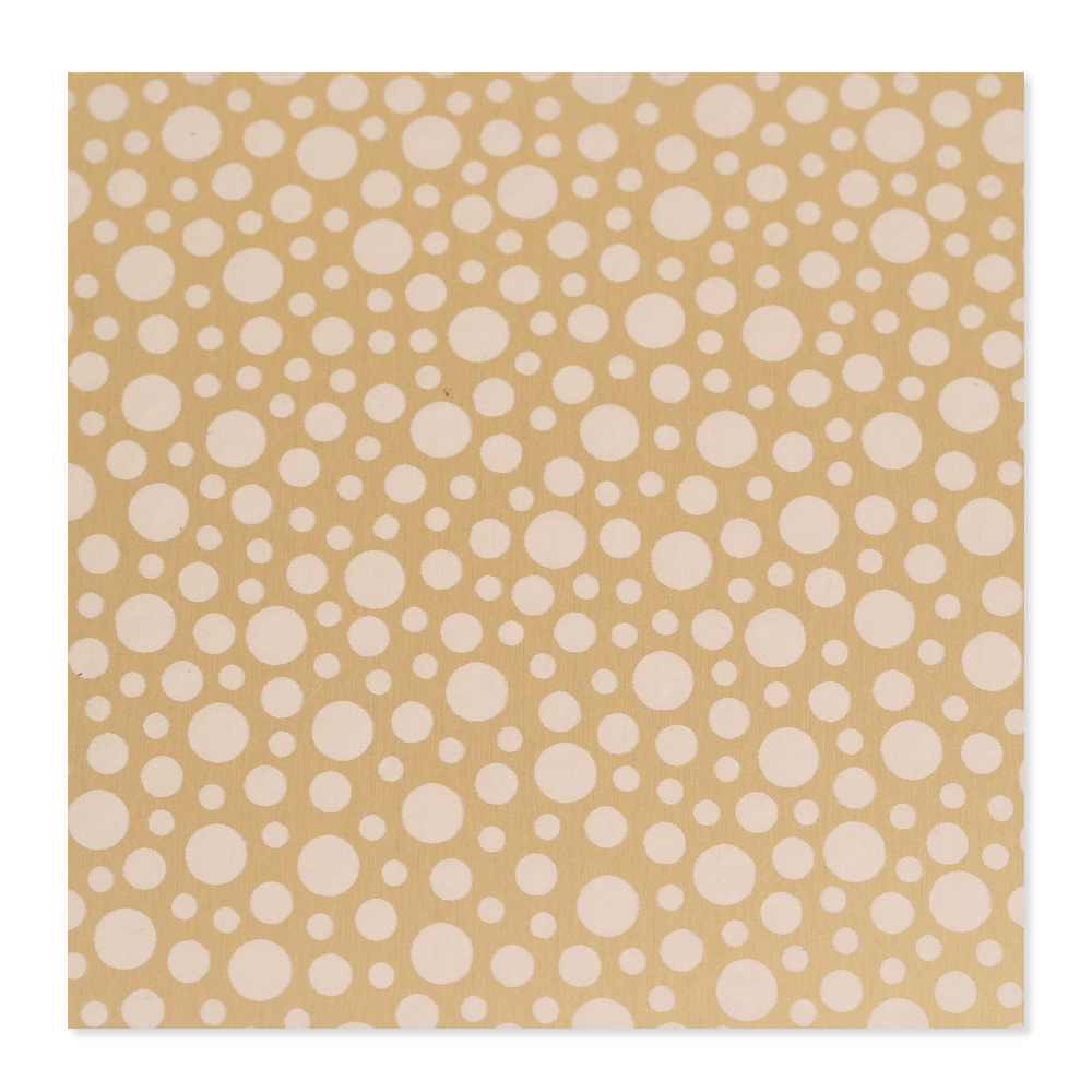 Anodized Aluminum 22g 3x3 Sheet, Design T, Gold