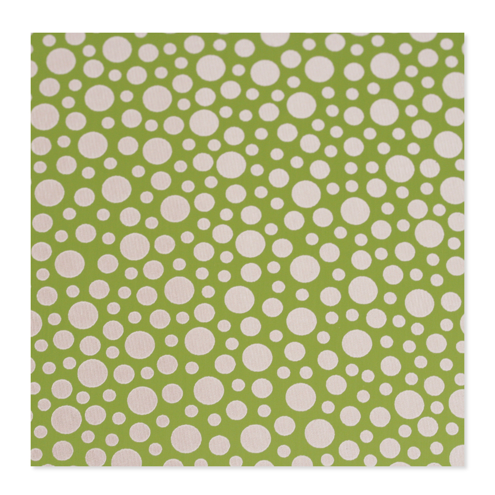 Anodized Aluminum 24g 3x3 Sheet, Design T, Lime Green