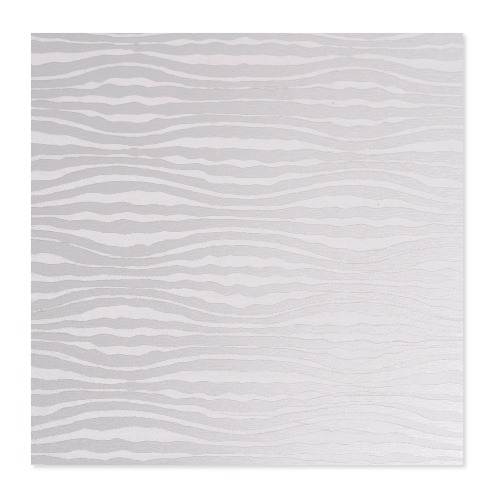 Anodized Aluminum 22g 3x3 Sheet, Design W, Silver