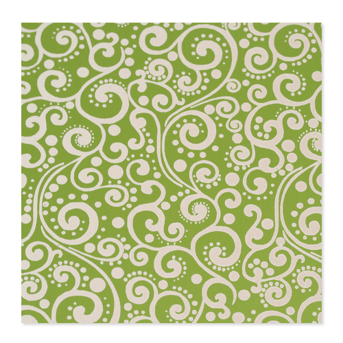 Dregs Anodized Aluminum 24g 3x3 Sheet, Design X, Lime Green