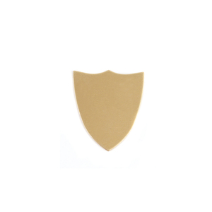 Metal Stamping Blanks Brass Shield, 24g
