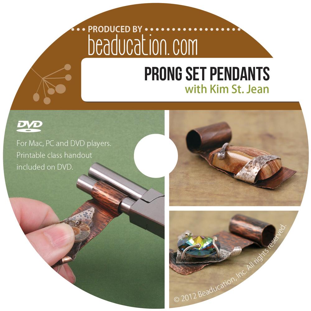 Prong Set Pendants DVD with Kim St. Jean