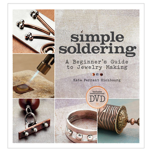 Books Simple Soldering Book & DVD by Kate Ferrant Richbourg