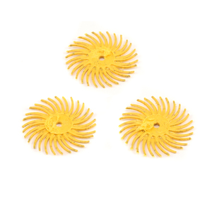 "Jewelry Making Tools 3M Radial Disc 3/4"" 80 grit (Yellow) - 3 pack"