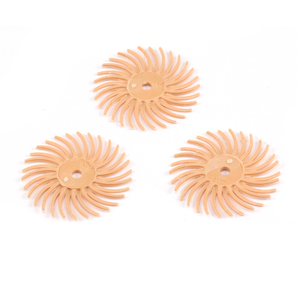 "Jewelry Making Tools 3M Radial Disc 3/4"" 6 micron (Peach) - 3 Pack"