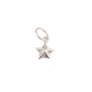 Charms & Solderable Accents Sterling Silver Nautical Star Charm