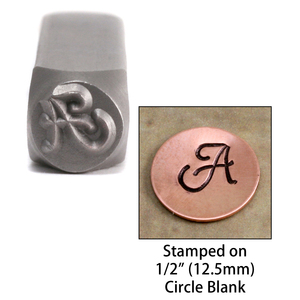 "Metal Stamping Tools Monogram Letter ""A""  6mm"