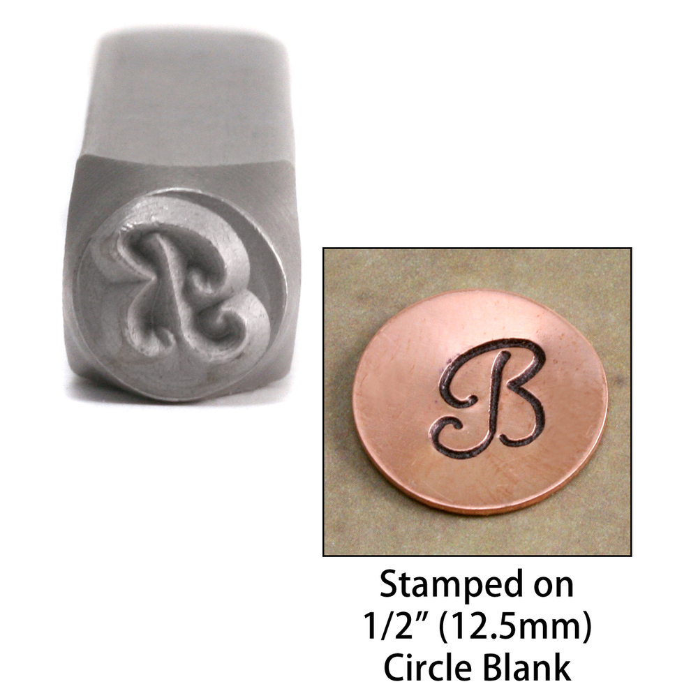 "Metal Stamping Tools Monogram Letter ""B""  6mm"