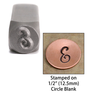 "Metal Stamping Tools NOT RESTOCKING -  Monogram Letter ""E""  6mm"