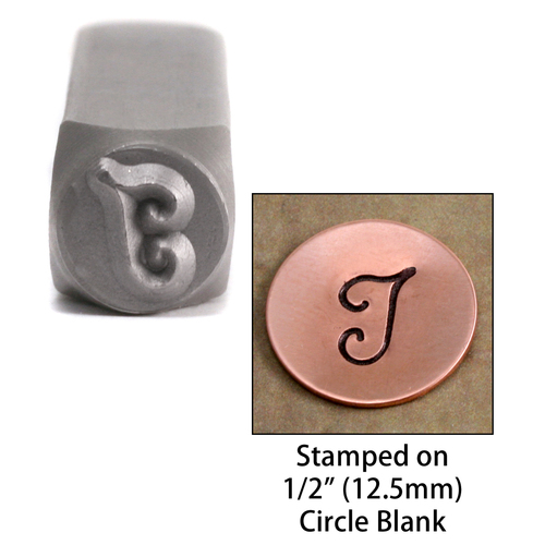 "Metal Stamping Tools Monogram Letter ""I""  6mm"