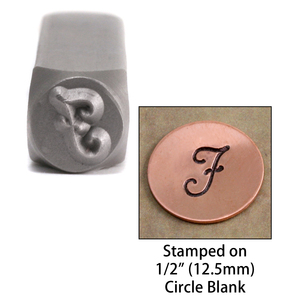 "Metal Stamping Tools Monogram Letter ""J""  6mm"