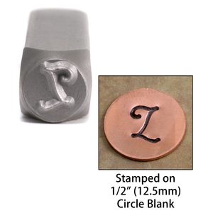 "Metal Stamping Tools Monogram Letter ""L""  6mm"