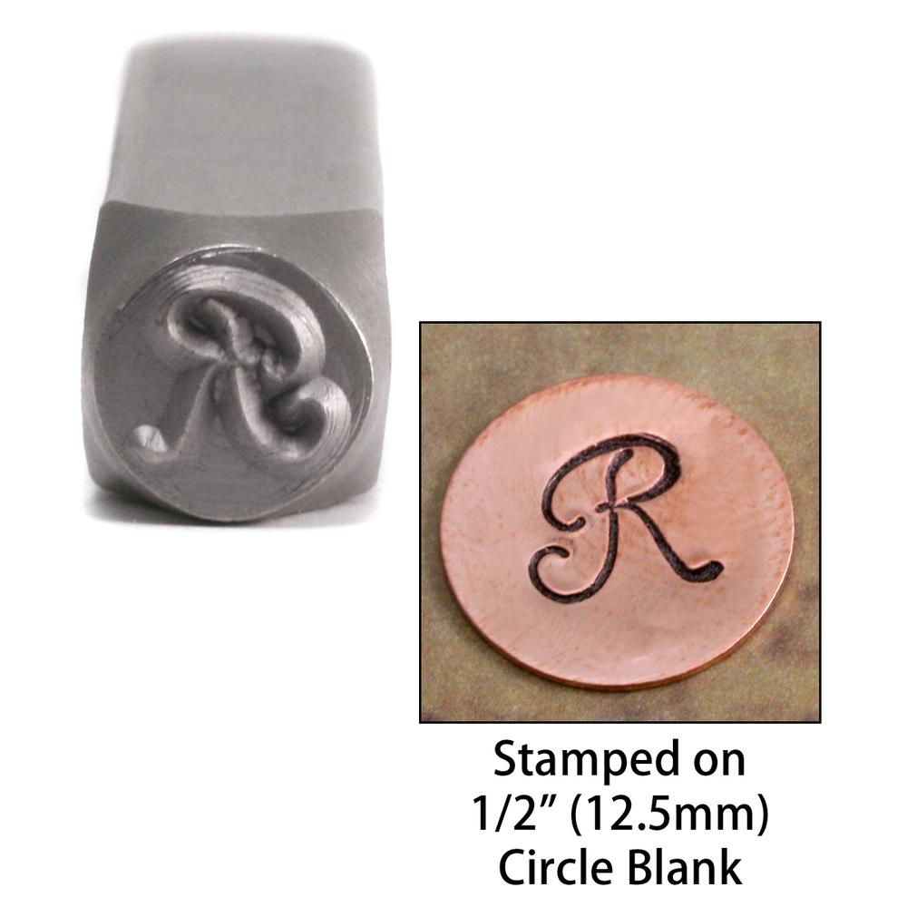"Metal Stamping Tools Monogram Letter ""R""  6mm"