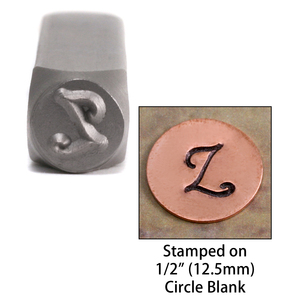 "Metal Stamping Tools Monogram Letter ""Z""  6mm"