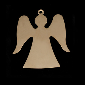 Metal Stamping Blanks Gold Filled Angel, 24g