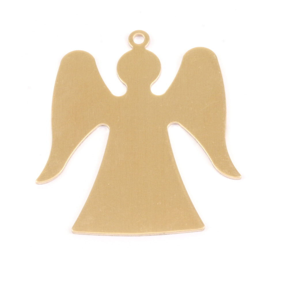 Metal Stamping Blanks Brass Angel, 24g