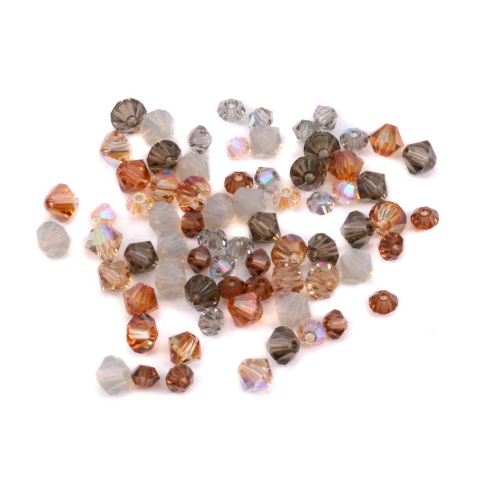 Crystals & Beads Earth Tone Crystal Mix