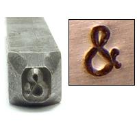 """Metal Stamping Tools Ampersand '&' Metal Design Stamp, 3/32"""""""