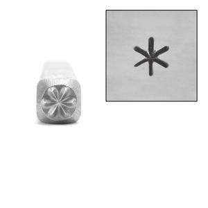 Metal Stamping Tools Asterisk Metal Design Stamp, 3mm