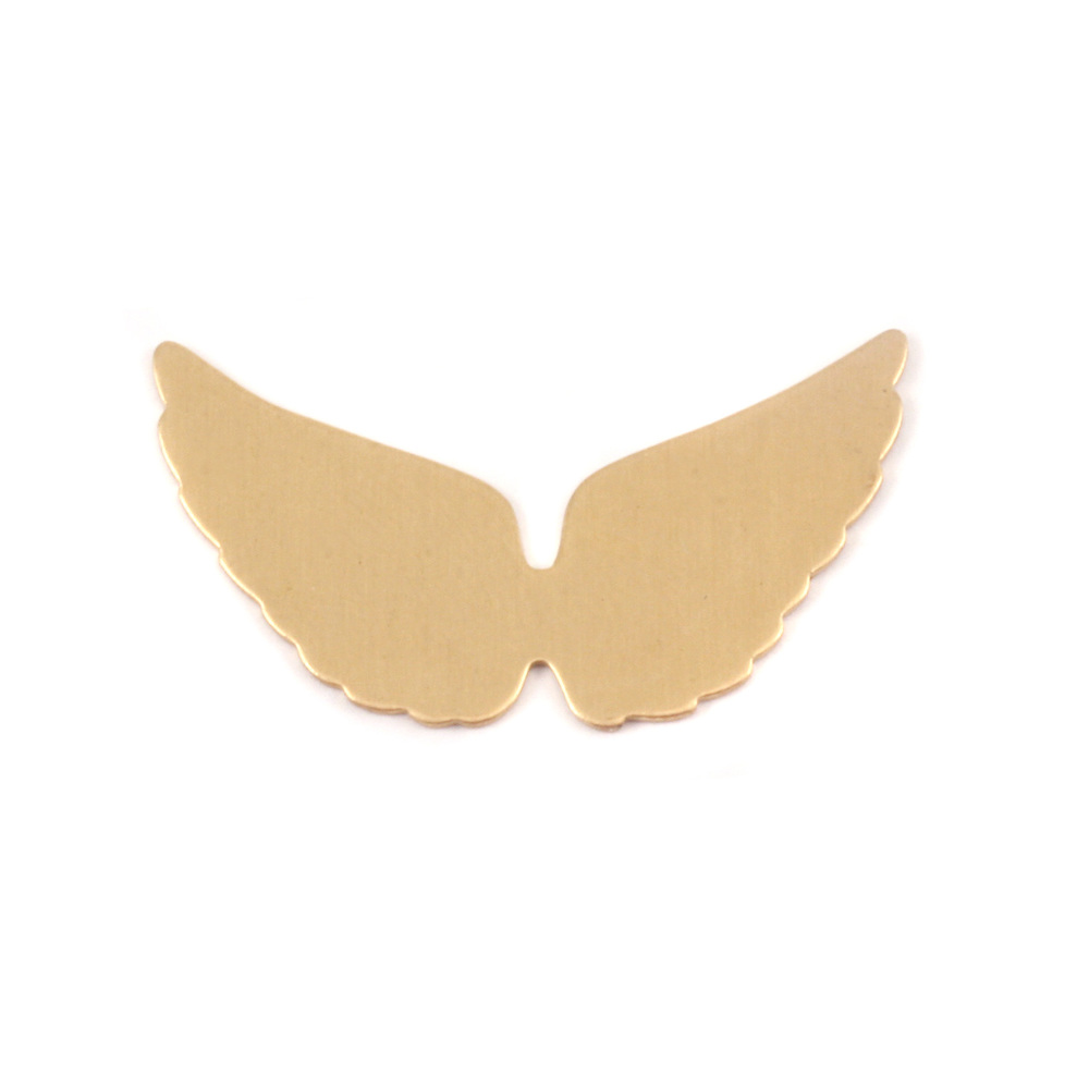 Metal Stamping Blanks Brass Wings, 24g
