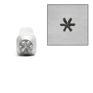 Metal Stamping Tools Asterisk Metal Design Stamp, 2.5mm
