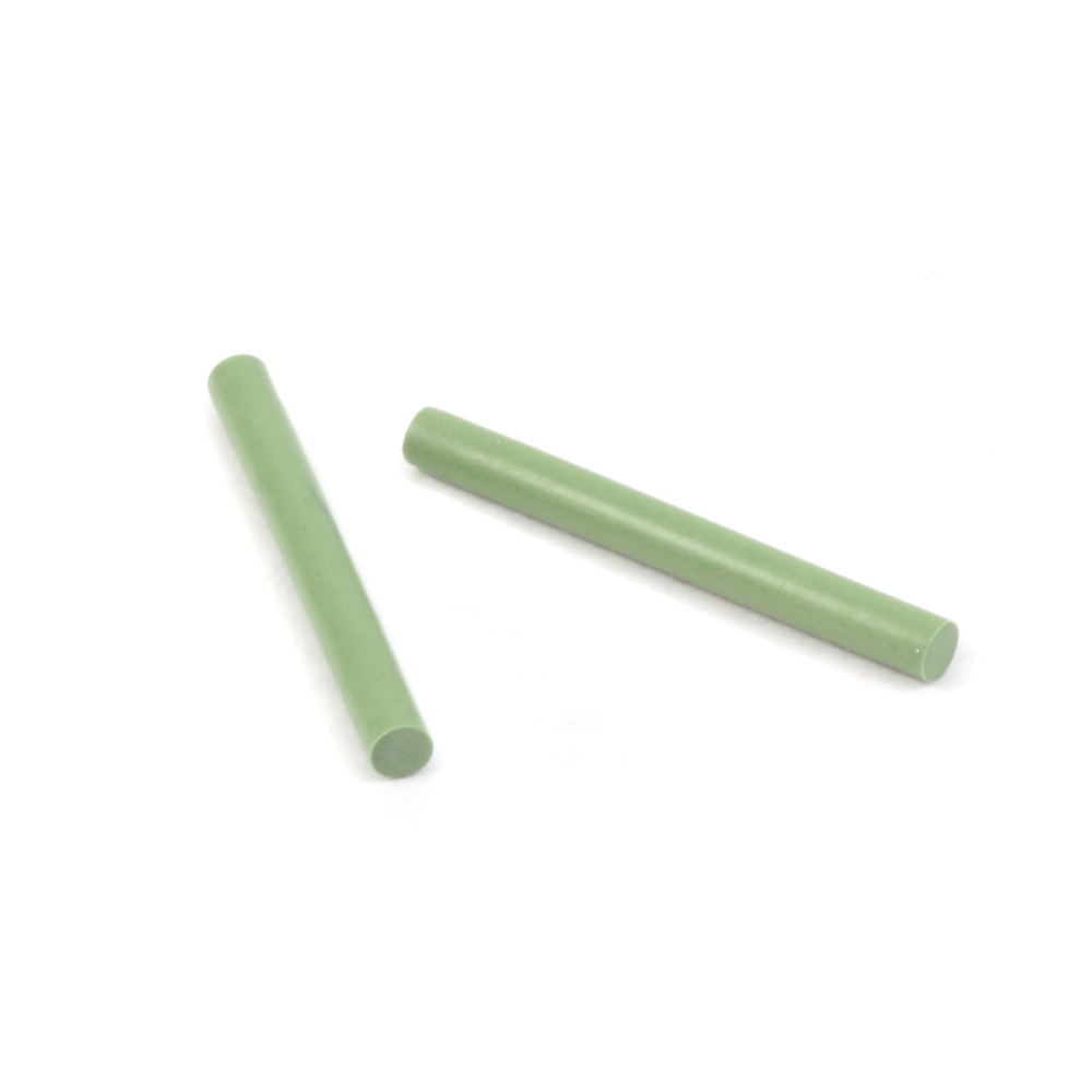 Jewelry Making Tools Polishing Pins, 2MM, Extra Fine, Green pk of 2