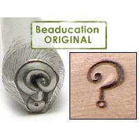 Metal Stamping Tools Question Mark Metal Design Stamp - Beaducation Original