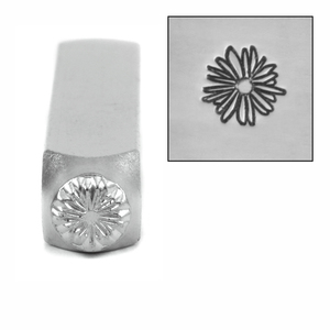 Metal Stamping Tools ImpressArt Lil Echinacea Flower Design Stamp 6mm
