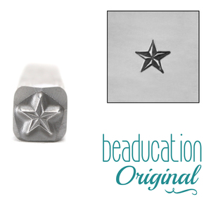 Metal Stamping Tools Nautical Star Metal Design Stamp- Beaducation Original