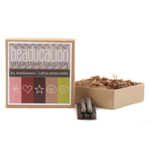 Metal Stamping Tools Beaducation Design Stamp Collection: Tiny Embellishments