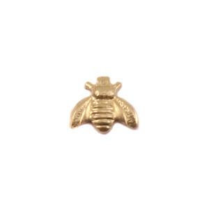 Charms & Solderable Accents Brass Bumble Bee Solderable Accent, 24 Gauge - Pack of 5