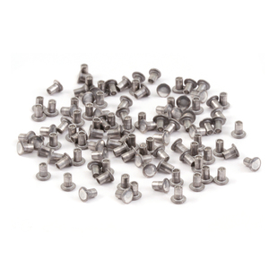 "Riveting Tools & Supplies Aluminum Hollow 1/16"" Rivets, 3/32"" Long"